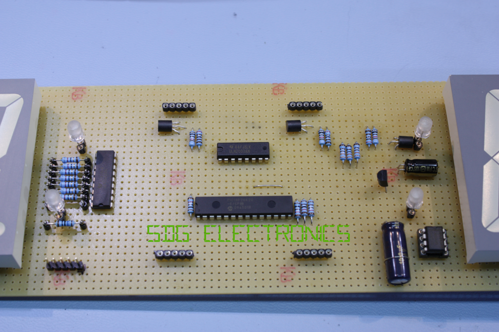 Assembled PCB - Front Side