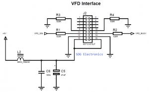 20x2 VFD UART Interface