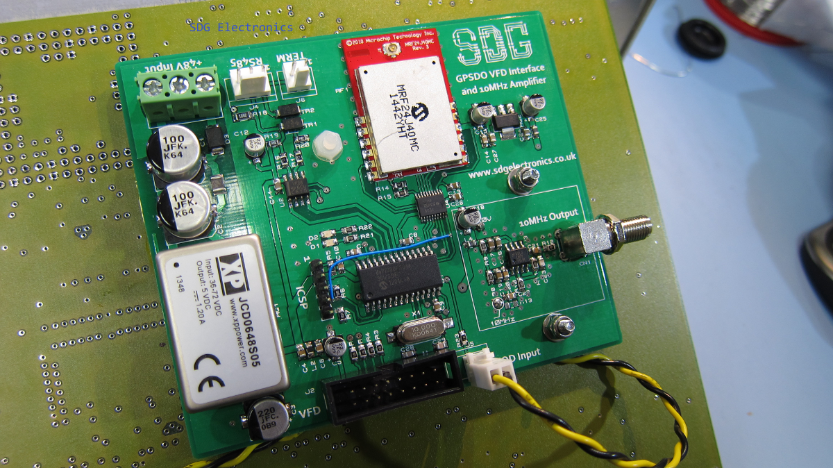 10MHz Frequency Reference GPSDO - SDG Electronics