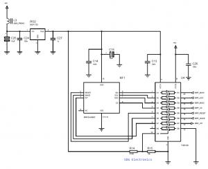 MRF24J40MC 2.4GHz Interface