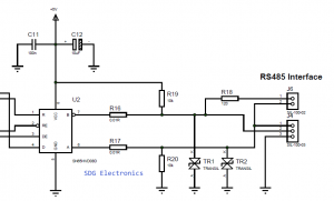 RS485 Interface and 100Ohm Termination