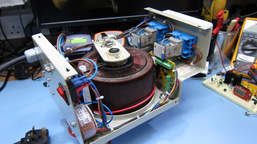 Completed variac project