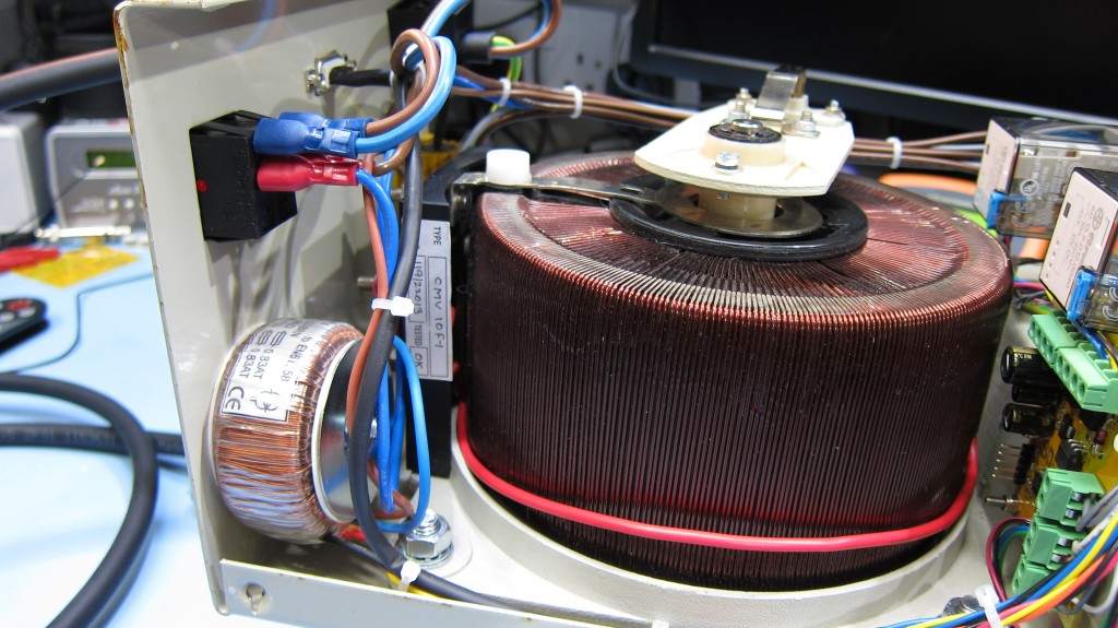Toroidal transformer for logic supply