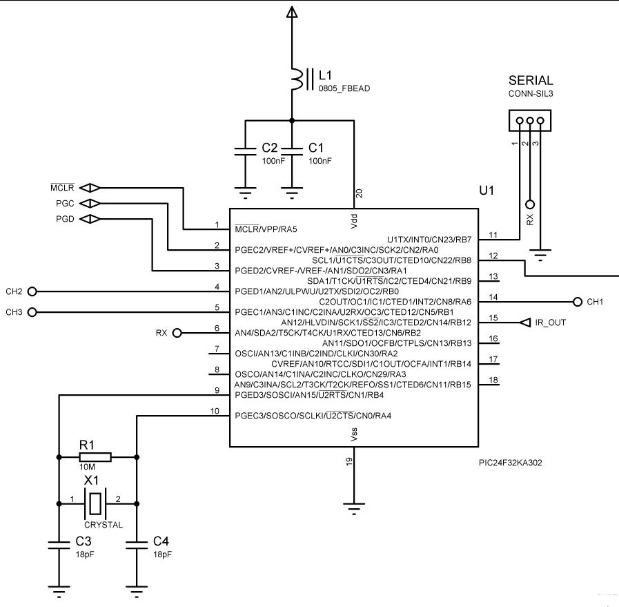 Microcontroller - PIC24F32KA302